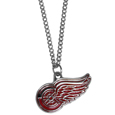 Detroit Red Wings Chain Necklace with Small Charm - Make a statement with our NHL Detroit Red Wings Chain Necklace with Small Charm. The 20 inch Detroit Red Wings Chain Necklace with Small Charm features a fully cast, high polish Detroit Red Wings pendant with vivid enameled Detroit Red Wings details. Perfect accessory for a Detroit Red Wings game day and nice enough to wear everyday! Thank you for visiting CrazedOutSports