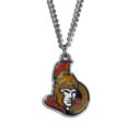 Ottawa Senators Chain Necklace - Make a statement with a NHL Ottawa Senators chain necklace. The 20 inch Ottawa Senators Chain Necklace features a fully cast, metal Ottawa Senators pendant with vivid enameled Ottawa Senators details. Perfect accessory for a Ottawa Senators game day and nice enough to wear everyday!