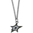 Dallas Stars Chain Necklace with Small Charm - Make a statement with our NHL Dallas Stars Chain Necklace with Small Charm. The 20 inch Dallas Stars Chain Necklace with Small Charm features a fully cast, high polish Dallas Stars pendant with vivid enameled Dallas Stars details. Perfect accessory for a Dallas Stars game day and nice enough to wear everyday!