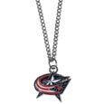 Columbus Blue Jackets Chain Necklace with Small Charm - Make a statement with our NHL Columbus Blue Jackets Chain Necklace with Small Charm. The 20 inch Columbus Blue Jackets Chain Necklace with Small Charm features a fully cast, high polish Columbus Blue Jackets pendant with vivid enameled details. Perfect Columbus Blue Jackets accessory for a Columbus Blue Jackets game day and nice enough to wear everyday!