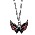 Washington Capitals Chain Necklace with Small Charm - Make a statement with our NHL Washington Capitals Chain Necklace with Small Charm. The 20 inch Washington Capitals Chain Necklace with Small Charm features a fully cast, high polish Washington Capitals pendant with vivid enameled Washington Capitals details. Perfect accessory for a Washington Capitals game day and nice enough to wear everyday! Thank you for visiting CrazedOutSports