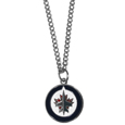 Winnipeg Jets Chain Necklace with Small Charm - Make a statement with our NHL Winnipeg Jets Chain Necklace with Small Charm. The 20 inch Winnipeg Jets Chain Necklace with Small Charm features a fully cast, high polish Winnipeg Jets pendant with vivid enameled Winnipeg Jets details. Perfect accessory for a Winnipeg Jets game day and nice enough to wear everyday!