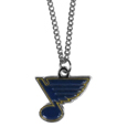 St. Louis Blues® Chain Necklace - Make a statement with our chain necklaces. The 22 inch chain features a fully cast, metal St. Louis Blues® pendant with vivid enameled details. Perfect accessory for game day and nice enough to wear everyday!