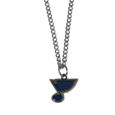 St. Louis Blues Chain Necklace with Small Charm - Make a statement with our NHL St. Louis Blues Chain Necklace with Small Charm. The 20 inch St. Louis Blues Chain Necklace with Small Charm features a fully cast, high polish St. Louis Blues pendant with vivid enameled St. Louis Blues details. Perfect accessory for a St. Louis Blues game day and nice enough to wear everyday!