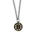 Boston Bruins Chain Necklace with Small Charm - Make a statement with our Boston Bruins Chain Necklace with Small Charm. The 20 inch Boston Bruins Chain Necklace with Small Charm features a fully cast, high polish Boston Bruins pendant with vivid enameled Boston Bruins details. Perfect accessory for a Boston Bruins game day and nice enough to wear everyday! Thank you for visiting CrazedOutSports