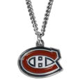Montreal Canadiens Chain Necklace - Make a statement with our NHL Montreal Canadiens Chain Necklace. The 20 inch Montreal Canadiens Chain Necklace features a fully cast, metal Montreal Canadiens pendant with vivid enameled Montreal Canadiens details. Perfect accessory for a Montreal Canadiens game day and nice enough to wear everyday!