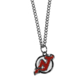 New Jersey Devils Chain Necklace with Small Charm - Make a statement with our NHL New Jersey Devils Chain Necklace with Small Charm. The 20 inch New Jersey Devils Chain Necklace with Small Charm features a fully cast, high polish New Jersey Devils pendant with vivid enameled New Jersey Devils details. Perfect accessory for a New Jersey Devils game day and nice enough to wear everyday!