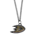 Anaheim Ducks Chain Necklace with Small Charm - Make a statement with our NHL Anaheim Ducks Chain Necklace with Small Charm. The 20 inch Anaheim Ducks Chain Necklace with Small Charm features a fully cast, high polish Anaheim Ducks pendant with vivid enameled Anaheim Ducks details. Perfect accessory for a Anaheim Ducks game day and nice enough to wear everyday! Thank you for visiting CrazedOutSports