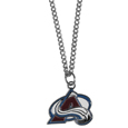 Colorado Avalanche Chain Necklace with Small Charm - Make a statement with our NHL Colorado Avalanche Chain Necklace with Small Charm. The 20 inch Colorado Avalanche Chain Necklace with Small Charm features a fully cast, high polish Colorado Avalanche pendant with vivid enameled Colorado Avalanche details. Perfect accessory for a Colorado Avalanche game day and nice enough to wear everyday!