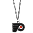 Philadelphia Flyers Chain Necklace with Small Charm - Make a statement with our NHL Philadelphia Flyers Chain Necklace with Small Charm. The 20 inch Philadelphia Flyers Chain Necklace with Small Charm features a fully cast, high polish Philadelphia Flyers pendant with vivid enameled Philadelphia Flyers details. Perfect accessory for a Philadelphia Flyers game day and nice enough to wear everyday!