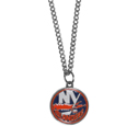 New York Islanders Chain Necklace with Small Charm - Make a statement with our NHL New York Islanders Chain Necklace with Small Charm. The 20 inch New York Islanders Chain Necklace with Small Charm features a fully cast, high polish New York Islanders pendant with vivid enameled New York Islanders details. Perfect accessory for a New York Islanders game day and nice enough to wear everyday!