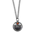 Edmonton Oilers Chain Necklace with Small Charm - Make a statement with our NHL Edmonton Oilers Chain Necklace with Small Charm. The 20 inch Edmonton Oilers Chain Necklace with Small Charm features a fully cast, high polish Edmonton Oilers pendant with vivid enameled Edmonton Oilers details. Perfect accessory for a Edmonton Oilers game day and nice enough to wear everyday!