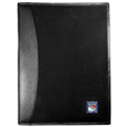 New York Rangers® Leather and Canvas Padfolio