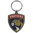 Florida Panthers Flex Key Chain - Our fun, flexible Florida Panthers key chains are made of a rubbery material that is layered to create a bright, textured logo.
