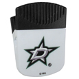 Dallas Stars Chip Clip Magnet - Use this attractive Dallas Stars clip magnet to hold memos, photos or appointment cards on the fridge or take it down keep use it to clip bags shut. The Dallas Stars magnet features a silk screened Dallas Stars logo.