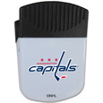 Washington Capitals Chip Clip Magnet - Use this attractive Washington Capitals clip magnet to hold memos, photos or appointment cards on the fridge or take it down keep use it to clip bags shut. The Washington Capitals magnet features a silk screened Washington Capitals logo. Thank you for visiting CrazedOutSports
