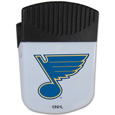 St. Louis Blues Chip Clip Magnet - Use this attractive St. Louis Blues clip magnet to hold memos, photos or appointment cards on the fridge or take it down keep use it to clip bags shut. The St. Louis Blues magnet features a silk screened St. Louis Blues logo.