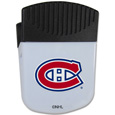 Montreal Canadiens Chip Clip Magnet - Use this attractive Montreal Canadiens clip magnet to hold memos, photos or appointment cards on the fridge or take it down keep use it to clip bags shut. The Montreal Canadiens magnet features a silk screened Montreal Canadiens logo.
