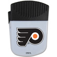Philadelphia Flyers Chip Clip Magnet - Use this attractive Philadelphia Flyers clip magnet to hold memos, photos or appointment cards on the fridge or take it down keep use it to clip bags shut. The Philadelphia Flyers magnet features a silk screened Philadelphia Flyers logo.