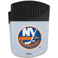 New York Islanders Chip Clip Magnet - Use this attractive New York Islanders clip magnet to hold memos, photos or appointment cards on the fridge or take it down keep use it to clip bags shut. The New York Islanders magnet features a silk screened New York Islanders logo.