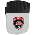 Florida Panthers Chip Clip Magnet - Use this attractive Florida Panthers clip magnet to hold memos, photos or appointment cards on the fridge or take it down keep use it to clip bags shut. The Florida Panthers magnet features a silk screened Florida Panthers logo.