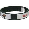 Minnesota Wild  Fan Bracelet - This  Minnesota Wild  Fan Bracelet is a one size fits all string cuff bracelets with a screen printed ribbon with the team Minnesota Wild  name and logo.  Thank you for visiting CrazedOutSports