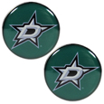 Dallas Stars™ Ear Gauge Pair 00G - Our officially licensed Dallas Stars™ ear plugs are double flared for a snug fit and the back screws on and off. They are made of quality 316L stainless steel and feature an inlaid team logo.