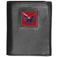 Washington Capitals Deluxe Leather Tri-fold Wallet - Officially licensed Washington Capitals fine grain leather wallet features numerous card slots, windowed ID slots, removable picture slots and large billfold pockets. This quality Washington Capitals wallet has an enameled Washington Capitals emblem on the front of the wallet. The Washington Capitals wallet is packaged in a gift box. Thank you for visiting CrazedOutSports