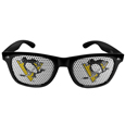 Pittsburgh Penguins Game Day Shades - Officially licensed NHL Pittsburgh Penguins game day shades are the perfect accessory for the devoted Pittsburgh Penguins fan! The Pittsburgh Penguins game day shades have durable polycarbonate frames with flex hinges for comfort and damage resistance. The lenses feature brightly colored Pittsburgh Penguins clings that are perforated for visibility. Thank you for visiting CrazedOutSports
