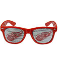 Detroit Red Wings Game Day Shades - Officially licensed NHL Detroit Red Wings game day shades are the perfect accessory for the devoted Detroit Red Wings fan! The Detroit Red Wings game day shades have durable polycarbonate frames with flex hinges for comfort and damage resistance. The lenses feature brightly colored Detroit Red Wings clings that are perforated for visibility. Thank you for visiting CrazedOutSports