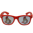Ottawa Senators Game Day Shades - Officially licensed NHL Ottawa Senators game day shades are the perfect accessory for the devoted Ottawa Senators fan! The Ottawa Senators game day shades have durable polycarbonate frames with flex hinges for comfort and damage resistance. The lenses feature brightly colored Ottawa Senators clings that are perforated for visibility.