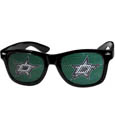 Dallas Stars  Game Day Shades - Officially licensed NHL Dallas Stars game day shades are the perfect accessory for the devoted Dallas Stars fan! The Dallas Stars game day shades have durable polycarbonate frames with flex hinges for comfort and damage resistance. The lenses feature brightly colored Dallas Stars clings that are perforated for visibility.