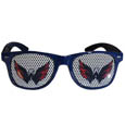 Washington Capitals Game Day Shades - Officially licensed NHL Washington Capitals game day shades are the perfect accessory for the devoted Washington Capitals fan! The Washington Capitals game day shades have durable polycarbonate frames with flex hinges for comfort and damage resistance. The lenses feature brightly colored Washington Capitals clings that are perforated for visibility. Thank you for visiting CrazedOutSports