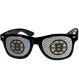 Boston Bruins Game Day Shades - Officially licensed NHL Boston Bruins game day shades are the perfect accessory for the devoted Boston Bruins fan! The Boston Bruins game day shades have durable polycarbonate frames with flex hinges for comfort and damage resistance. The lenses feature brightly colored Boston Bruins clings that are perforated for visibility. Thank you for visiting CrazedOutSports