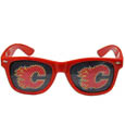 Calgary Flames Game Day Shades - Officially licensed NHL Calgary Flames game day shades are the perfect accessory for the devoted Calgary Flames fan! The Calgary Flames game day shades have durable polycarbonate frames with flex hinges for comfort and damage resistance. The lenses feature brightly colored Calgary Flames clings that are perforated for visibility. Thank you for visiting CrazedOutSports
