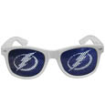 Tampa Bay Lightning Game Day Shades - Officially licensed NHL Tampa Bay Lightning game day shades are the perfect accessory for the devoted Tampa Bay Lightning fan! The Tampa Bay Lightning game day shades have durable polycarbonate frames with flex hinges for comfort and damage resistance. The lenses feature brightly colored Tampa Bay Lightning game day shades clings that are perforated for visibility. Thank you for visiting CrazedOutSports