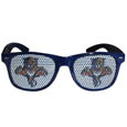 Florida Panthers Game Day Shades - Officially licensed NHL Florida Panthers game day shades are the perfect accessory for the devoted Florida Panthers fan! The Florida Panthers Game Day Shades have durable polycarbonate frames with flex hinges for comfort and damage resistance. The lenses feature brightly colored Florida Panthers clings that are perforated for visibility.