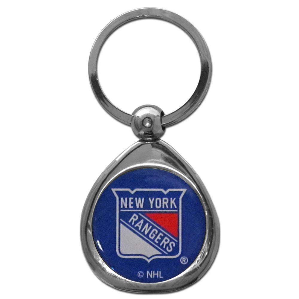 New York Rangers® Chrome Key Chain - Our stylish, high-polish New York Rangers® key chain is a great way to carry your team with your. The key fob features a raised team dome.