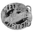 Let's Rodeo Enameled Belt Buckle