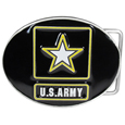 Army Enameled Belt Buckle