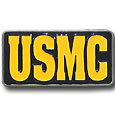 USMC Enameled Belt Buckle