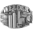 Welder Tools Antiqued Belt Buckle