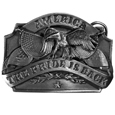 American Pride Antiqued Belt Buckle