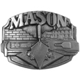 Mason Antiqued Belt Buckle