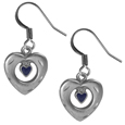 Dangle Earrings - Heart in Heart