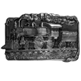 Train Antiqued Belt Buckle