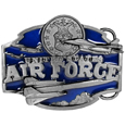 U.S. Air Force  Enameled Belt Buckle