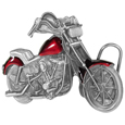 Motorcycle  Enameled Belt Buckle
