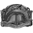 Word of God Antiqued Belt Buckle