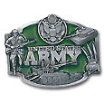Military U.S. Army Enameled Belt Buckle